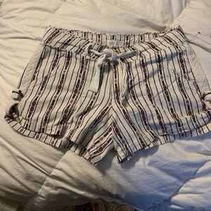 "SZ 9/10 Jolt brand Linen/Cotton 3.5"" shorts"